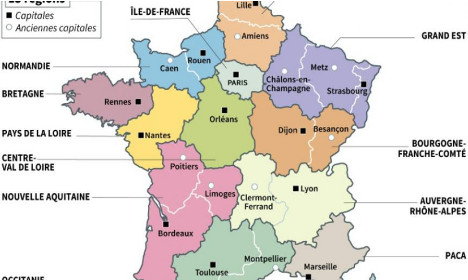 Nouvelle carte region 2016