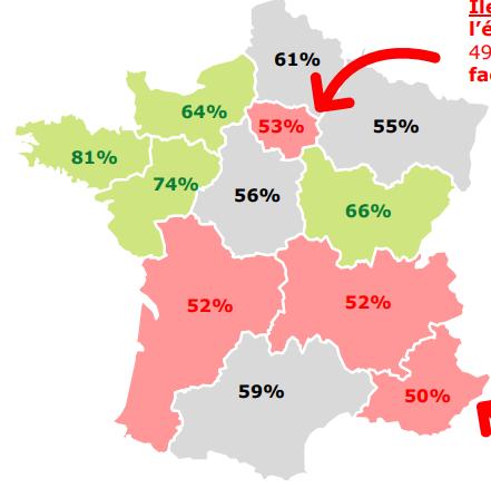 Quelles sont les régions de france