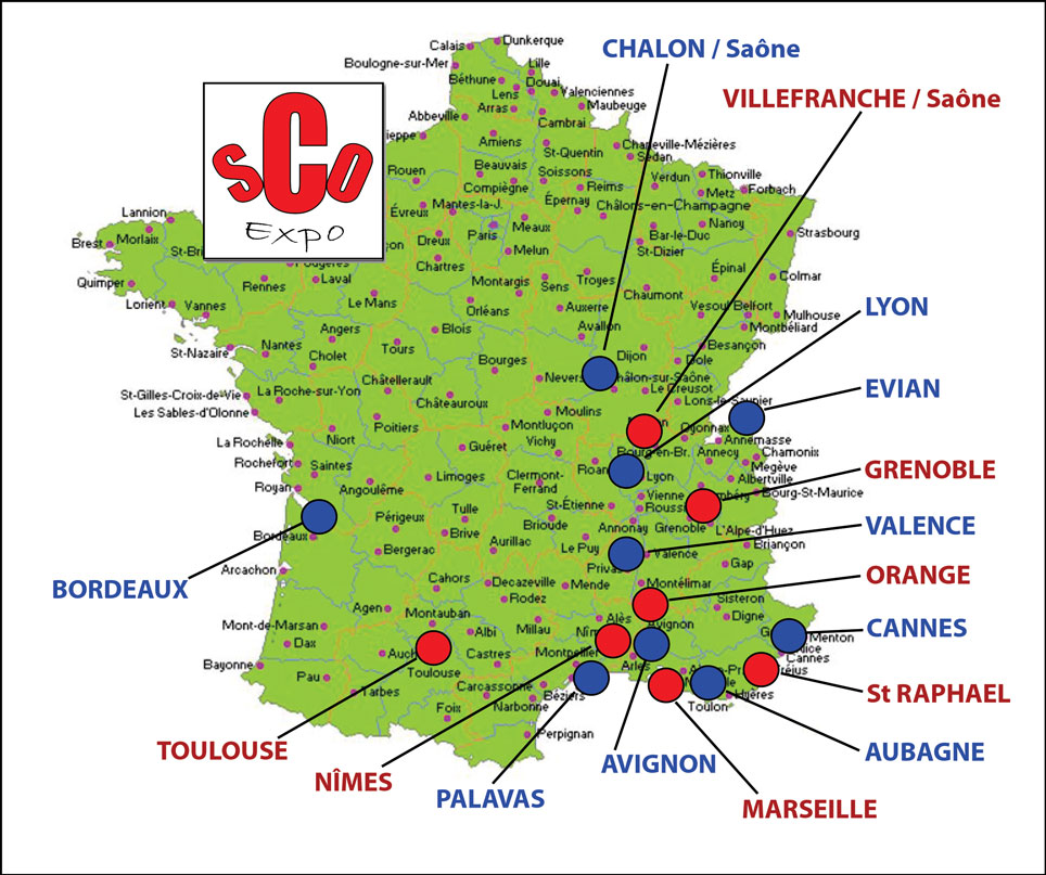 France departement liste - altoservices