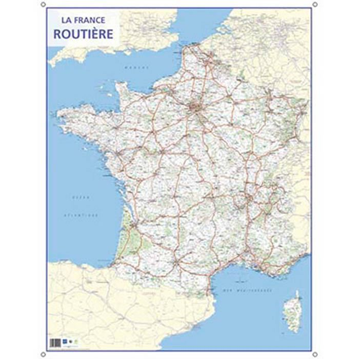 Atlas carte routiere france