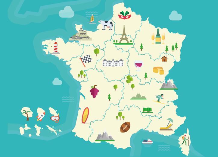 France paris carte