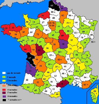 Carte du departement 62