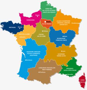 Les nouvelles regions