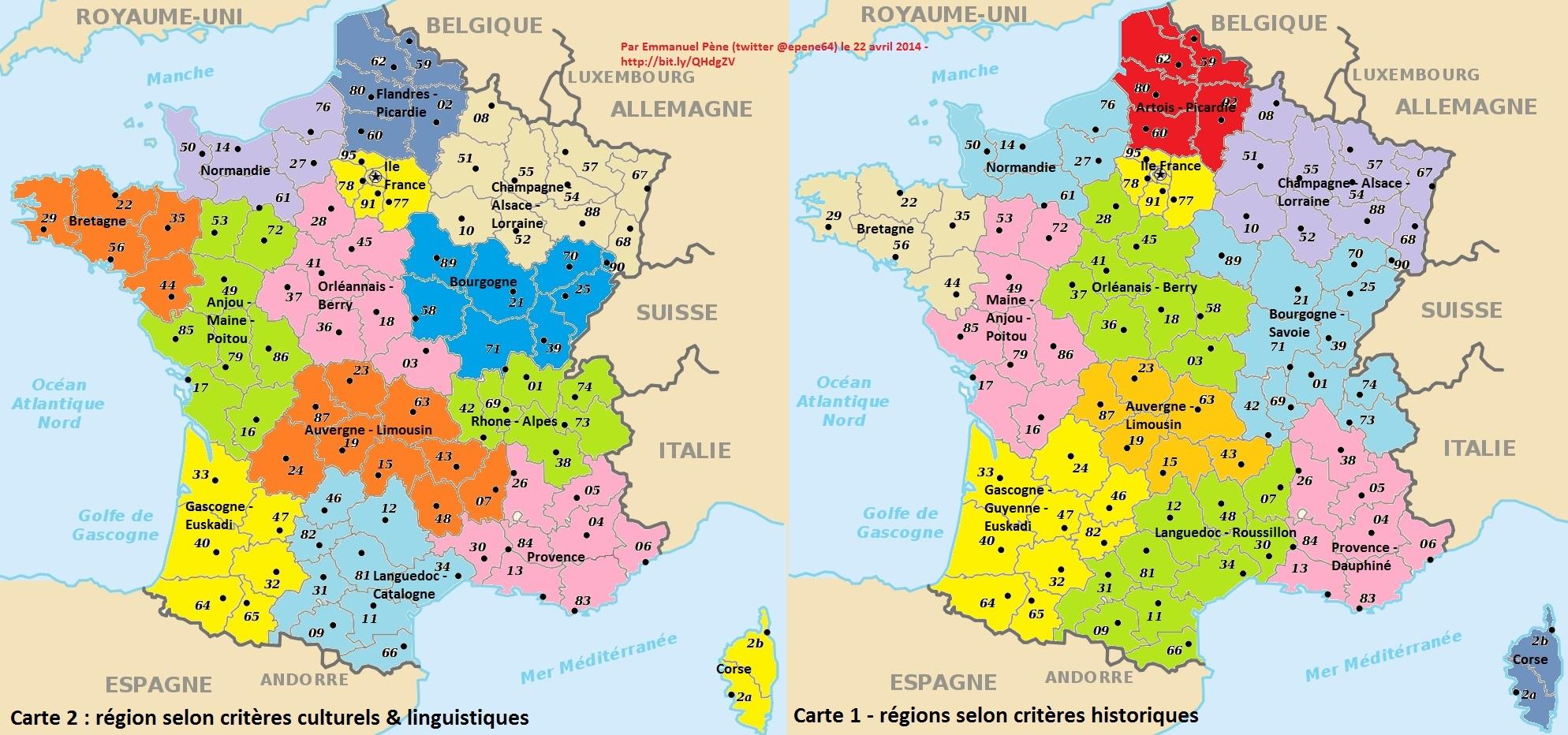 Ancienne région de france