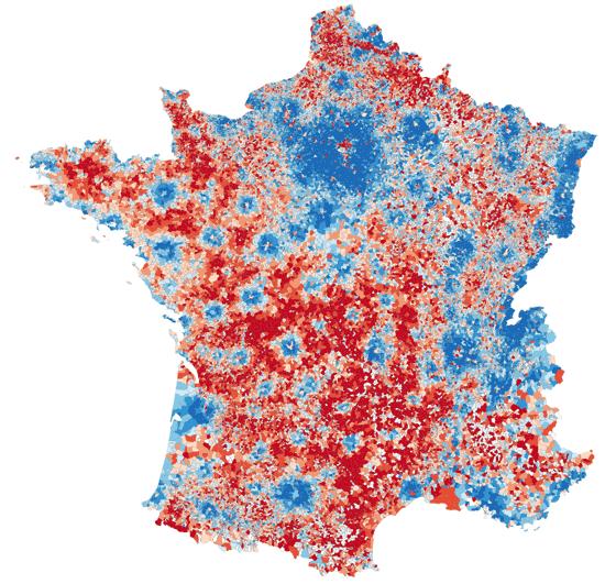 Carte communes de france