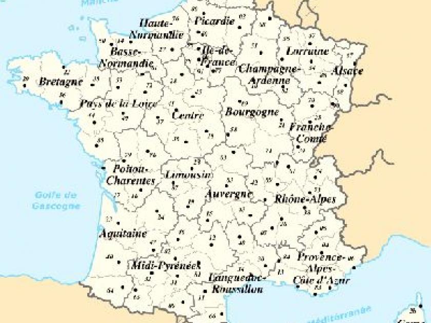 Departement francais 98